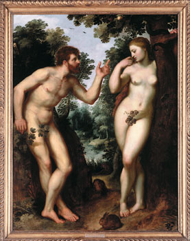 Adam & Eve gave in to temptation and pleasure - so should you!