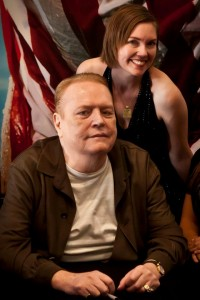 Larry Flynt and me! photo by Mike Estes
