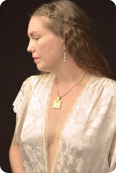 Kendra Holliday portraying vanilla. Photo by Stan Strembicki