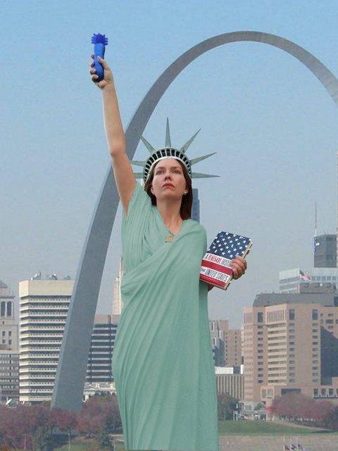 Lady Lascivious Liberty!