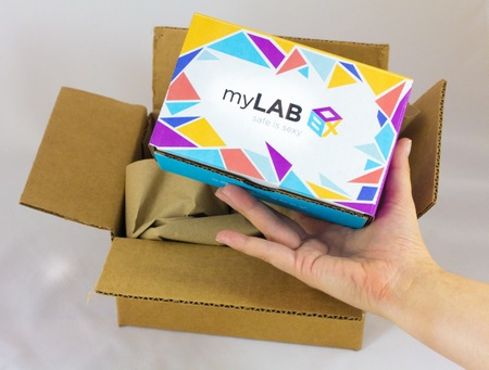 myLAB Box allows you to test yourself at home!
