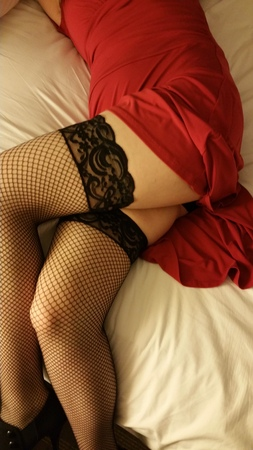 I love fishnets!