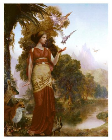 The goddess Demeter