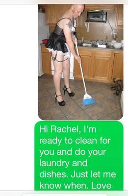 Sissy Maid is such a good sissy!