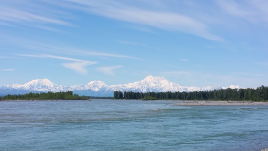 Denali during the day