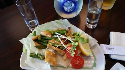 Try some geoduck!