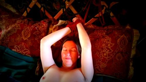 Tied up in yurt heaven!
