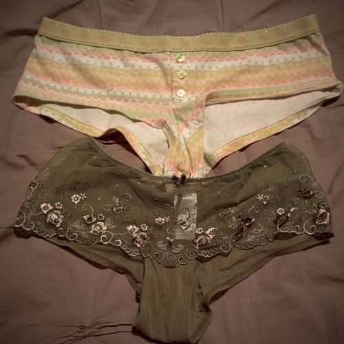 Vintage panties - collector's items!