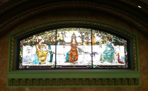 Stained glass at Union Station